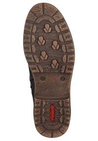 Rieker - Stivali con i lacci - black/grey - 5