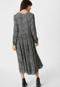 C&A - Day dress - black / white - 1