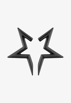 HALF-STAR  - Earrings - black
