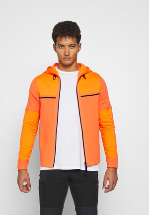 LUCO - veste en sweat zippée - orange