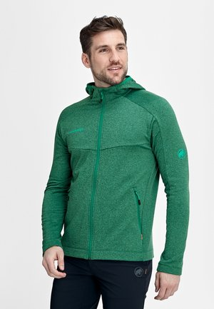 NAIR  - Fleece jacket - deep emerald melange