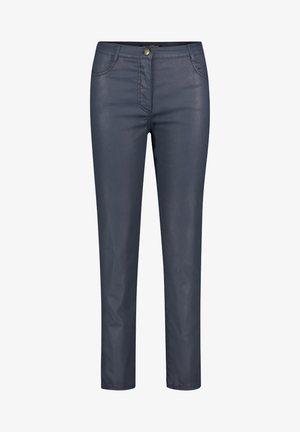 MIT AUFGESETZTEN TASCHEN - Trousers - dunkelblau