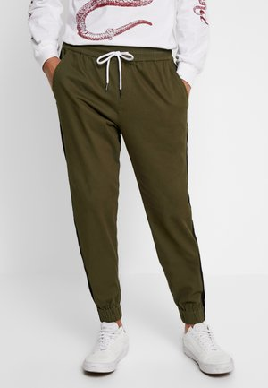 Tracksuit bottoms - oliv
