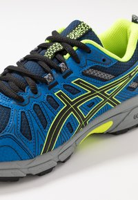 ASICS - GEL-VENTURE 7 - Trail running shoes - black/safety yellow - 2