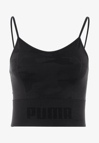 Puma - EVOKNIT SEAMLESS CROP - Funktionsshirt - black - 5