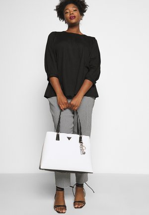 BECCA LUXURY SATCHEL - Shopper - white/multi