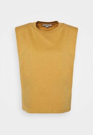 CONI TANK - Linne - ochre yellow