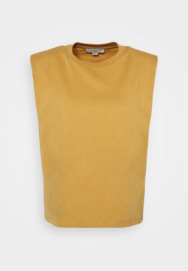 CONI TANK - Top - ochre yellow