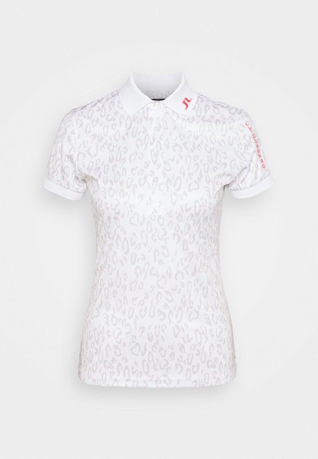 TOUR TECH GOLF  - Sports shirt - grey/white