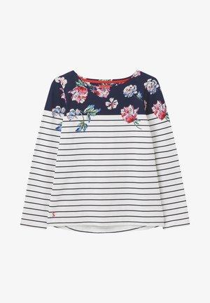 HARBOUR  - Long sleeved top - floral umrandung streifen