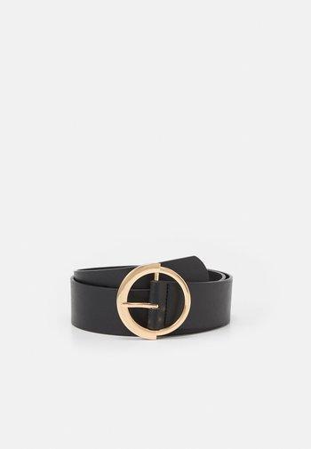 PCSEPHANIE WAIST BELT - Waist belt - black/gold-coloured