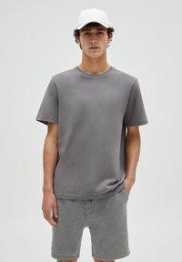 PULL&BEAR - 3 PACK - T-shirt - bas - white - 2