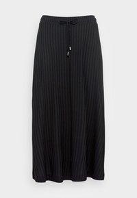 Esprit - SKIRT - Áčková sukně - black - 3