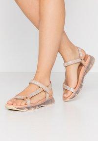 Toral - Sandaalit nilkkaremmillä - aute natural - 0