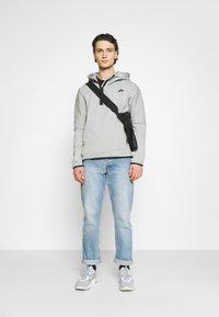 Nike Sportswear - Hoodie -  grey heather/black - 1
