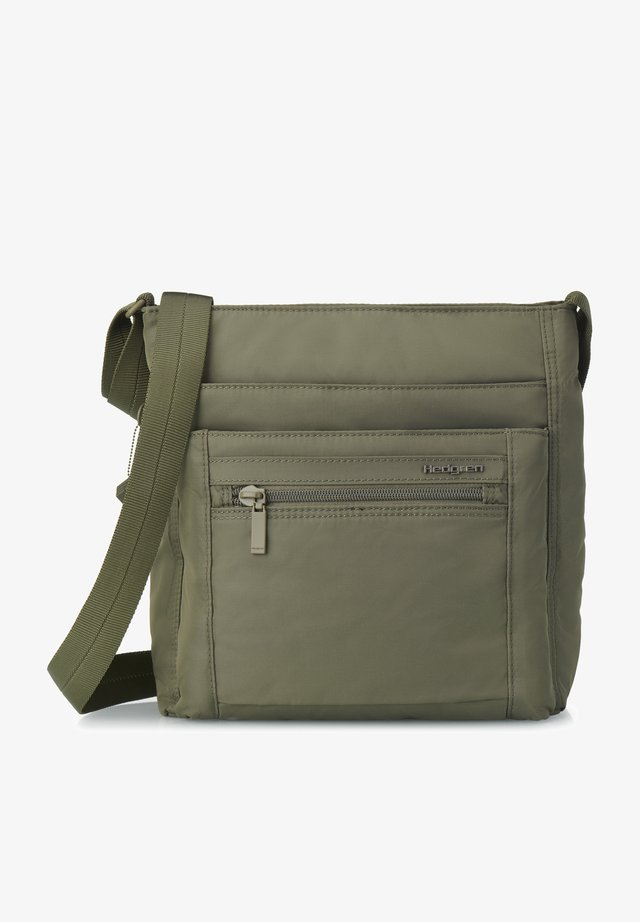 INNER CITY ORVA - Across body bag - olive night