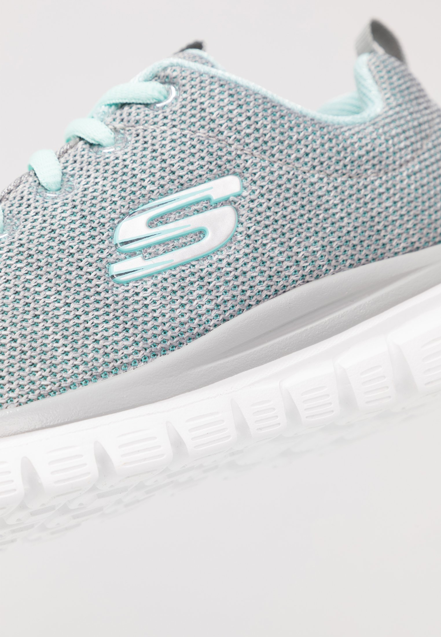 Skechers Sport GRACEFUL Sneaker low gray/mint/türkis