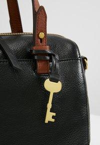 Fossil - RACHEL SATCHEL - Handtasche - black - 8