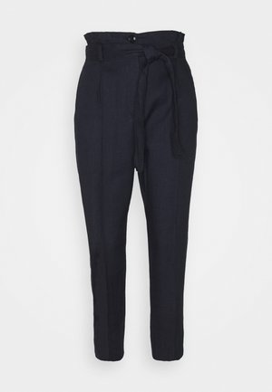 ONDULATO - Trousers - midnight blue