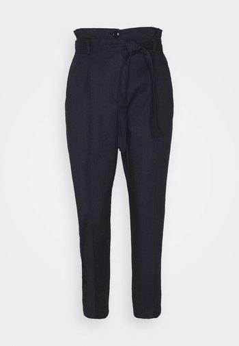 ONDULATO - Trousers - midnight blue