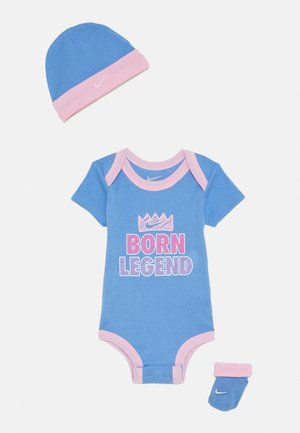 BORN LEGEND UNISEX SET - Beanie - royal pulse