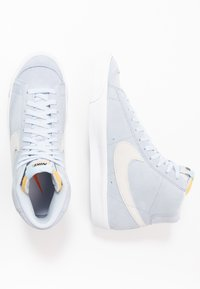 Nike Sportswear - BLAZER MID '77 UNISEX - High-top trainers - hydrogen blue/white/black - 1