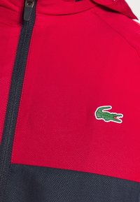 Lacoste Sport - TRACK SUIT - Tracksuit - navy blue/ruby/white - 7