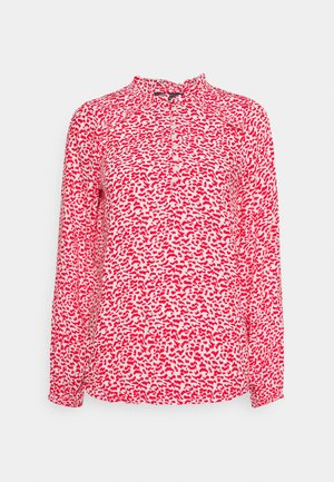 FRILL BLOUSE - Blouse - red