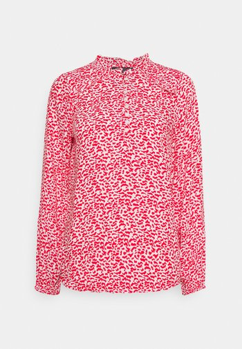 FRILL BLOUSE - Bluser - red