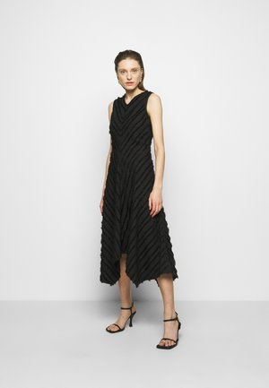 FRINGE FIL COUPE DRESS - Cocktail dress / Party dress - black