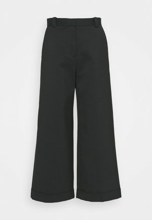 Trousers - lightless green