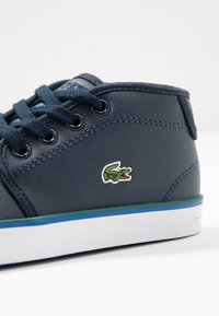 Lacoste - AMPTHILL  - Baby shoes - navy/green - 5
