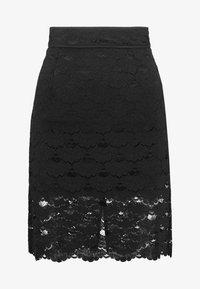 Vila - A-snit nederdel/ A-formede nederdele - black - 3