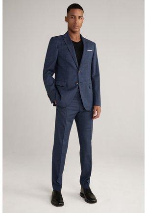 Suit - navy/schwarz kariert