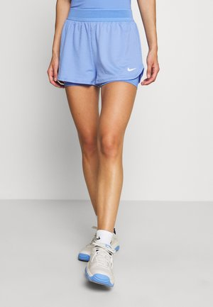DRY SHORT - Urheilushortsit - royal pulse/white