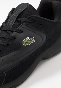 Lacoste - V-ULTRA - Sneakers laag - black - 5
