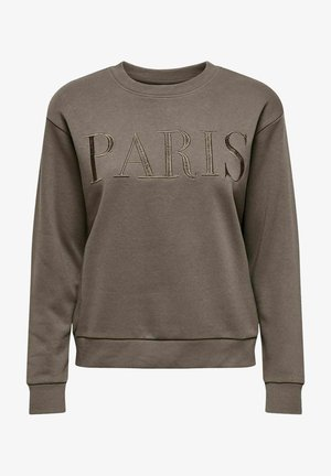 JDYPARIS TREATS - Sweatshirt - brown