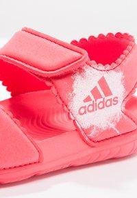 adidas Performance - ALTASWIM - Pool slides - core pink/white - 5
