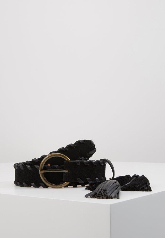 CINTURA VITA REGULAR - Waist belt - nero