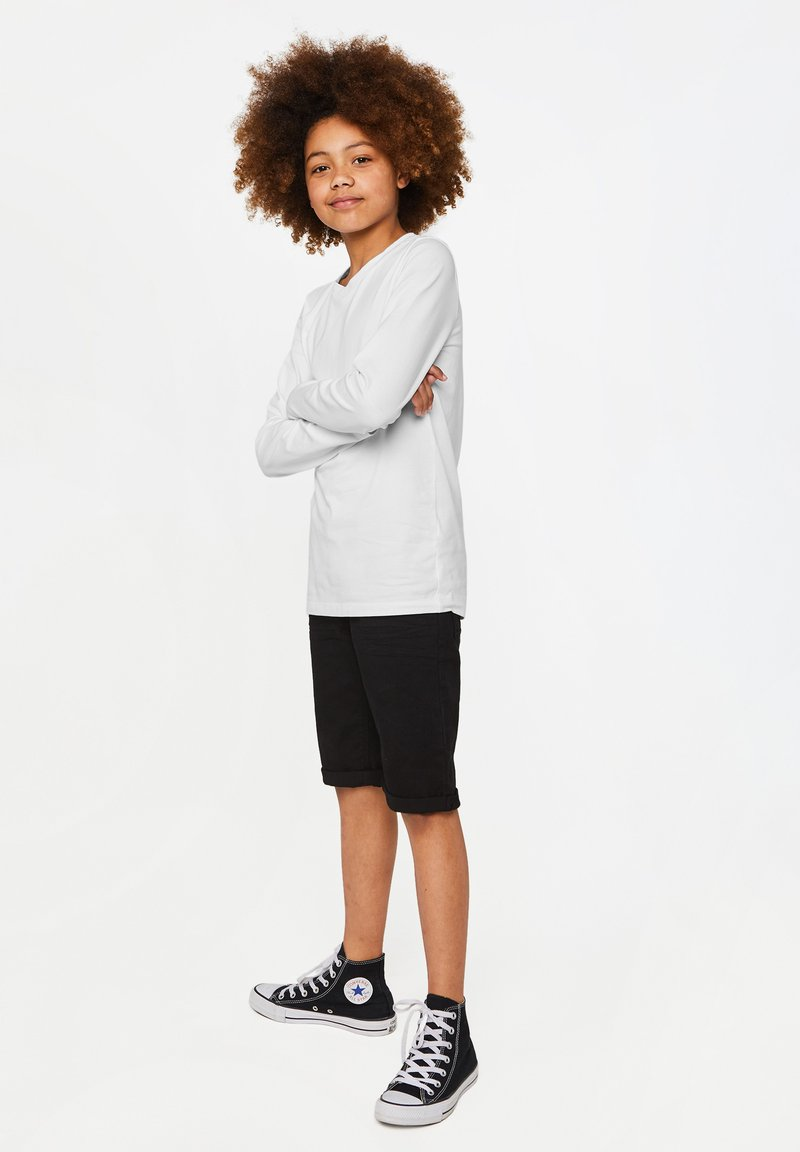 WE Fashion - REGULAR FIT - Long sleeved top - white