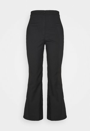 WENDY TROUSERS - Bukser - black