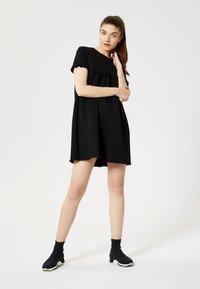 Talence - Vestito di maglina - noir - 1