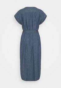 GAP - MIDI DRESS - Denim dress - medium indigo - 1