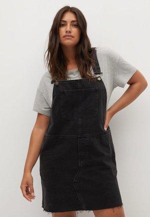 OLGA - Denim dress - black denim