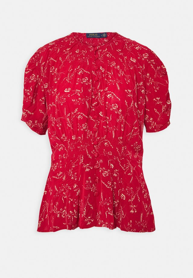 SHORT SLEEVE - Bluzka - tender red