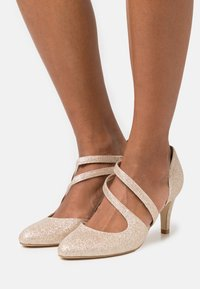 Anna Field - LEATHER - Klassiske pumps - gold - 0