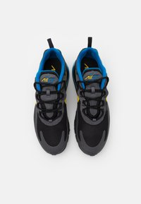 Nike Sportswear - AIR MAX 270 REACT UNISEX - Trainers - black/tour yellow/dark grey/blue spark - 3