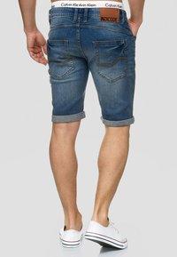 INDICODE JEANS - CUBA CADEN - Short en jean - blau - 2