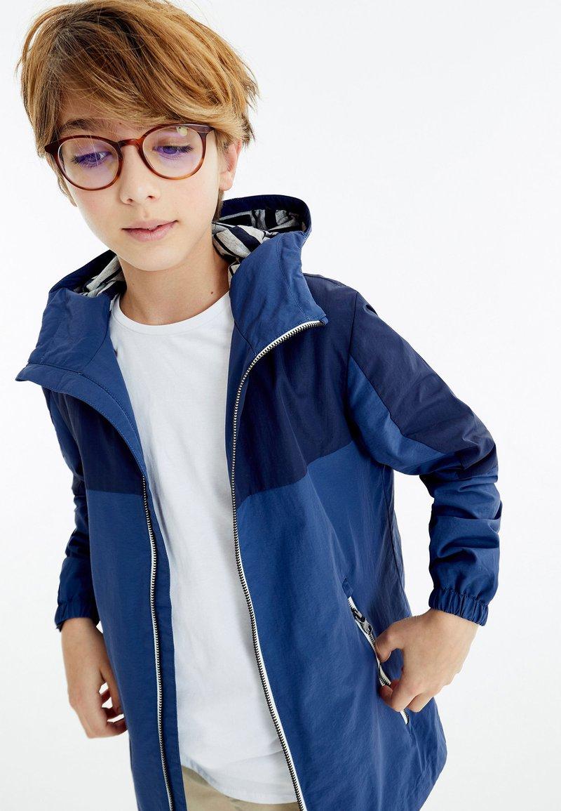 Next - Waterproof jacket - blue