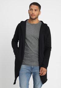 INDICODE JEANS - BREKSTAD - Zip-up hoodie - black - 0